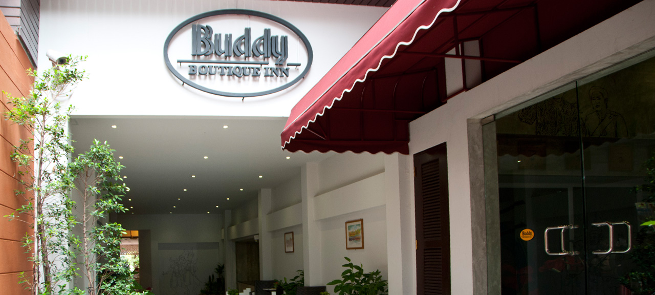 Buddy Boutique Inn Khaosan Bangkok